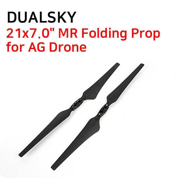 "[DUALSKY] 21x7.0"" MR Folding Prop for AG Drone"