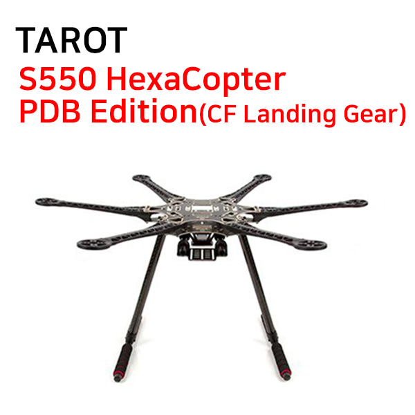 [TAROT] S550 HexaCopter PDB Edition(CF Landing Gear)