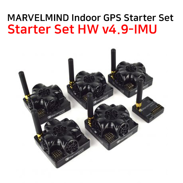 MARVELMIND Indoor GPS Starter Set – HW v4.9 + IMU 인도어GPS