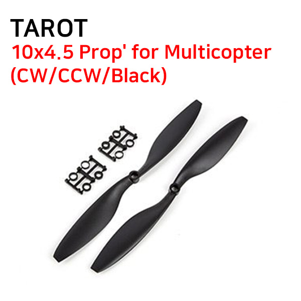 [TAROT] 10x4.5 Prop' for Multicopter(CW/CCW/Black)