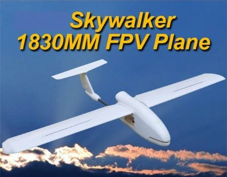 [Skywalker] 1830mm FPV Plane UAV Remote Control Electric Powered Glider RC Model White EPO Airplanes